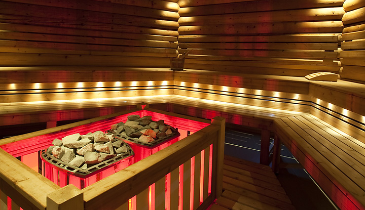 Custom Sauna Interior