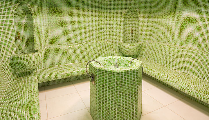 Luxury Tile Steam Room